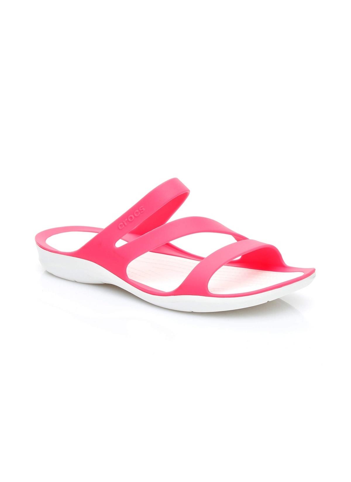 Crocs Plaj Terliği 203998 Swiftwater Sandal Pembe Terlik – 149.0 TL